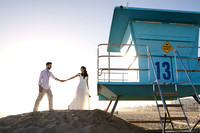 Noor + Amir - Huntington Beach + Pier, CA