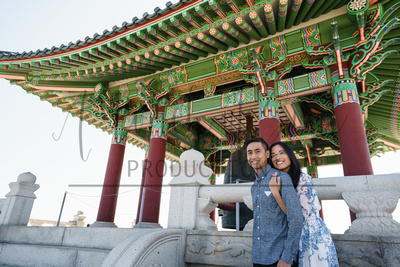 Shana + Kenny - Korean Friendship Bell + Signal Hill